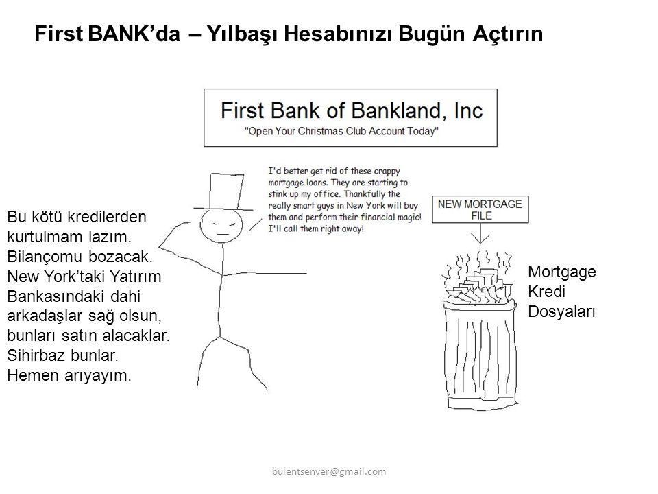 Şimdi New York Yatırım Bankasındaki Zeki Çocuklar Ne Yapıyor Bakalım bulentsenver@gmail.com