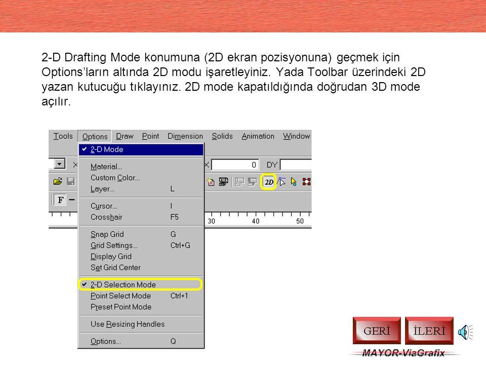 DesignCAD DesignCAD 3000, Pro 2000 ve LT 2000 Ön Bilgiler Tüm Hakları Saklıdır. İzinsiz kopyalanamaz. (C) Copyright, MAYOR 1999 Dikkat: Bu sunu seslid