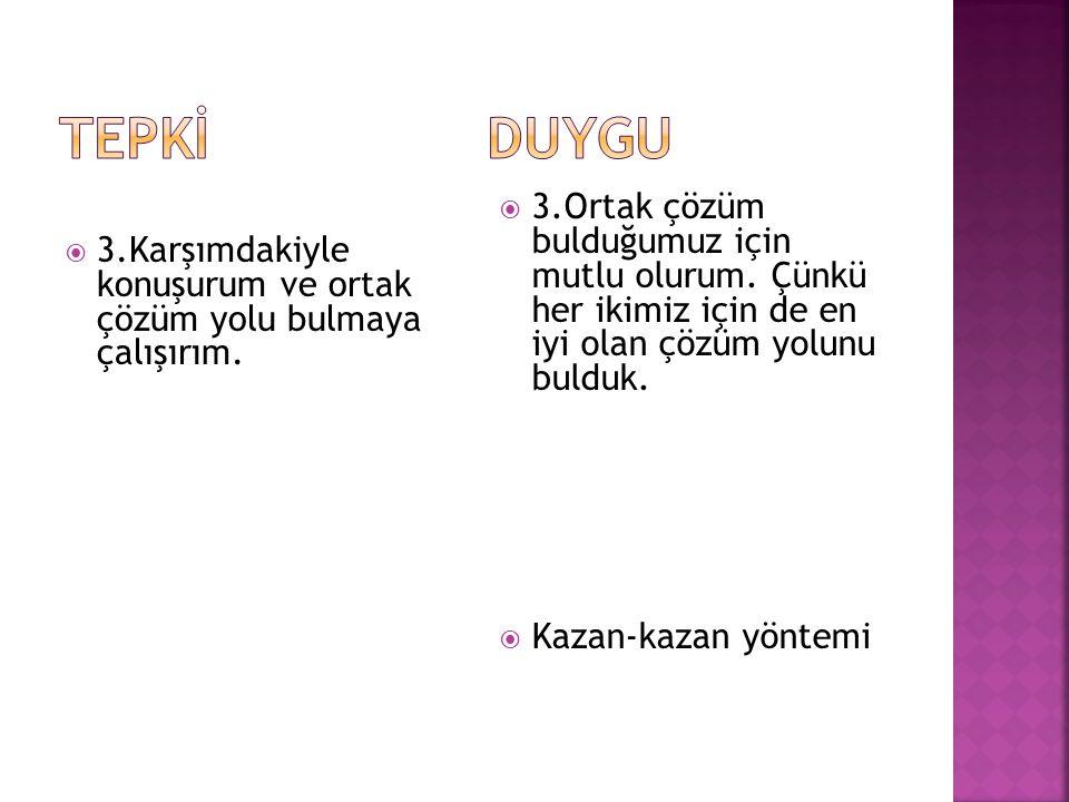 ANLAŞMA KAZAN-KAZAN