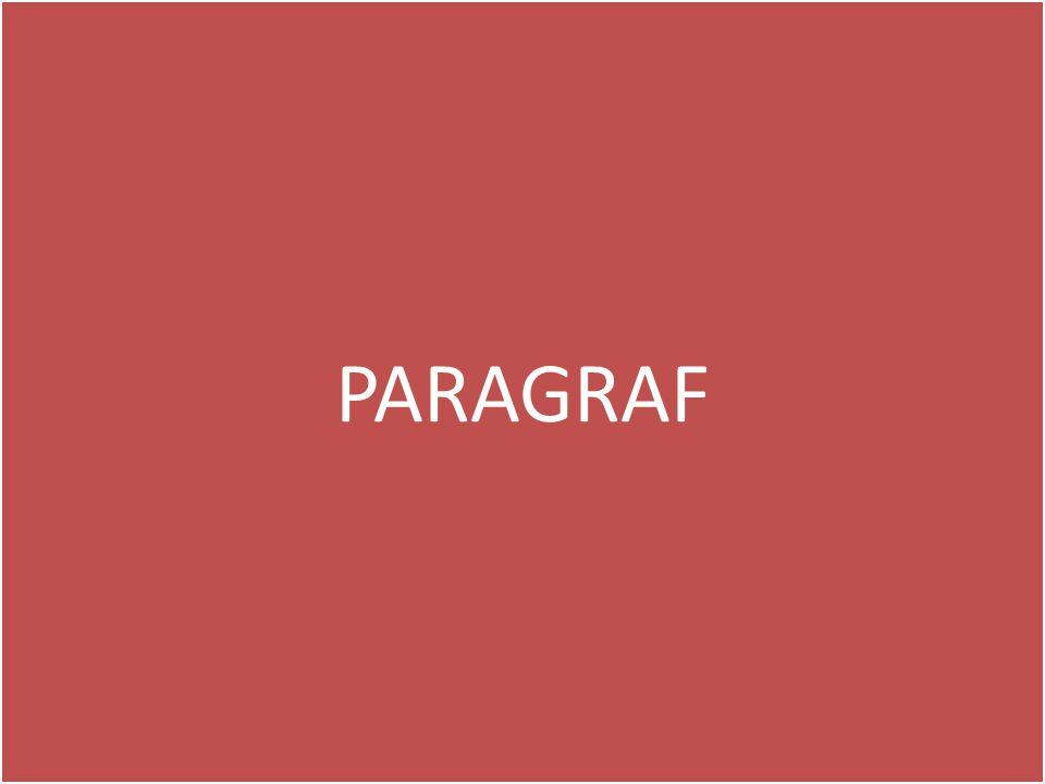 • Bir düşünceyi ana düşünce etrafında destekleyen cümle veya cümleler topluluğuna paragraf denir.