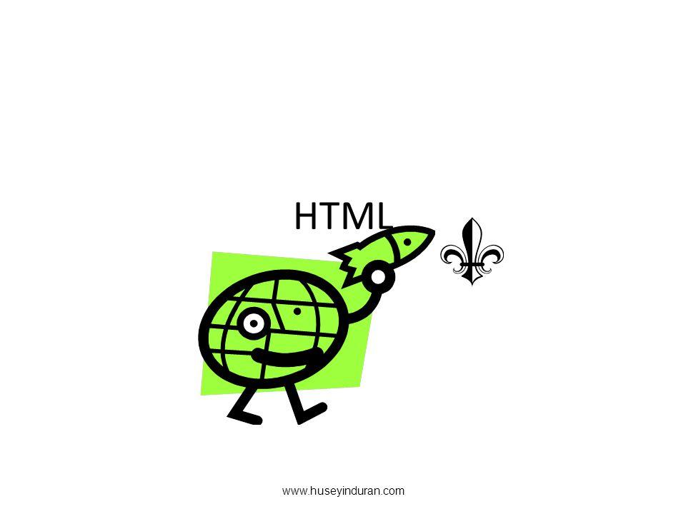 HTML www.huseyinduran.com