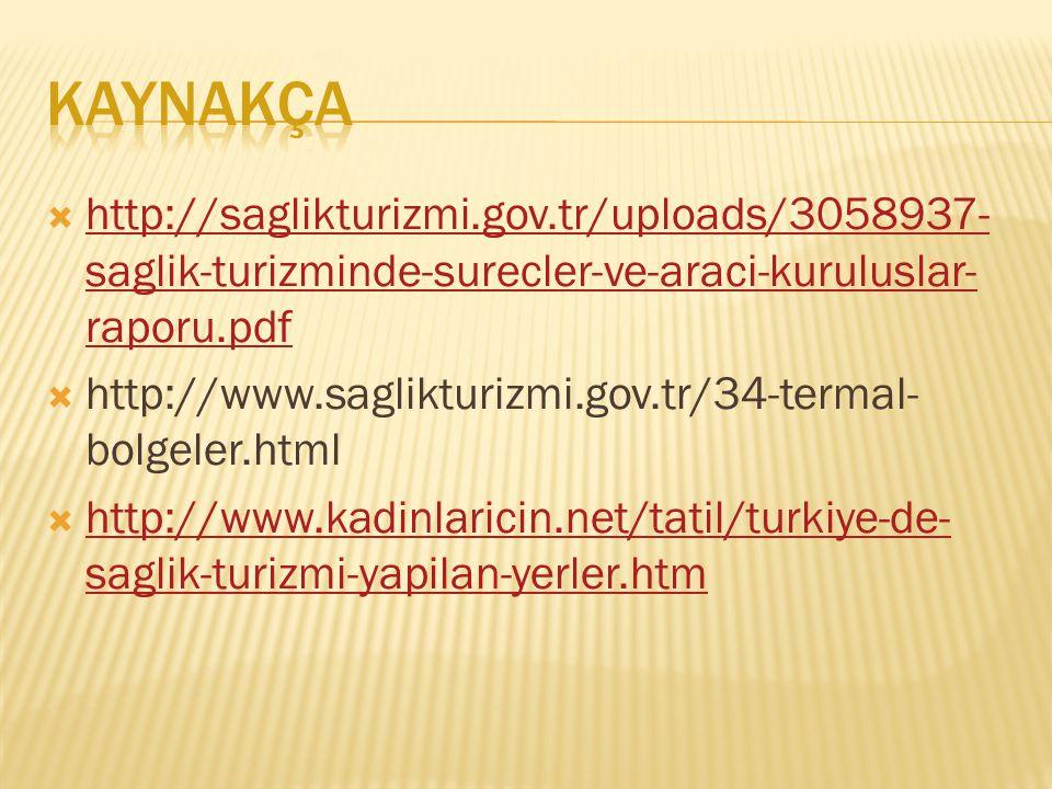  http://saglikturizmi.gov.tr/uploads/3058937- saglik-turizminde-surecler-ve-araci-kuruluslar- raporu.pdf http://saglikturizmi.gov.tr/uploads/3058937-