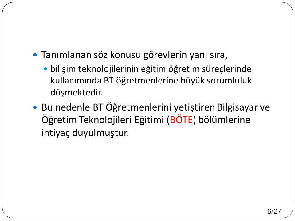 27/27  Teşekkürler..Yıldız, H. ve Seferoğlu, S. S.