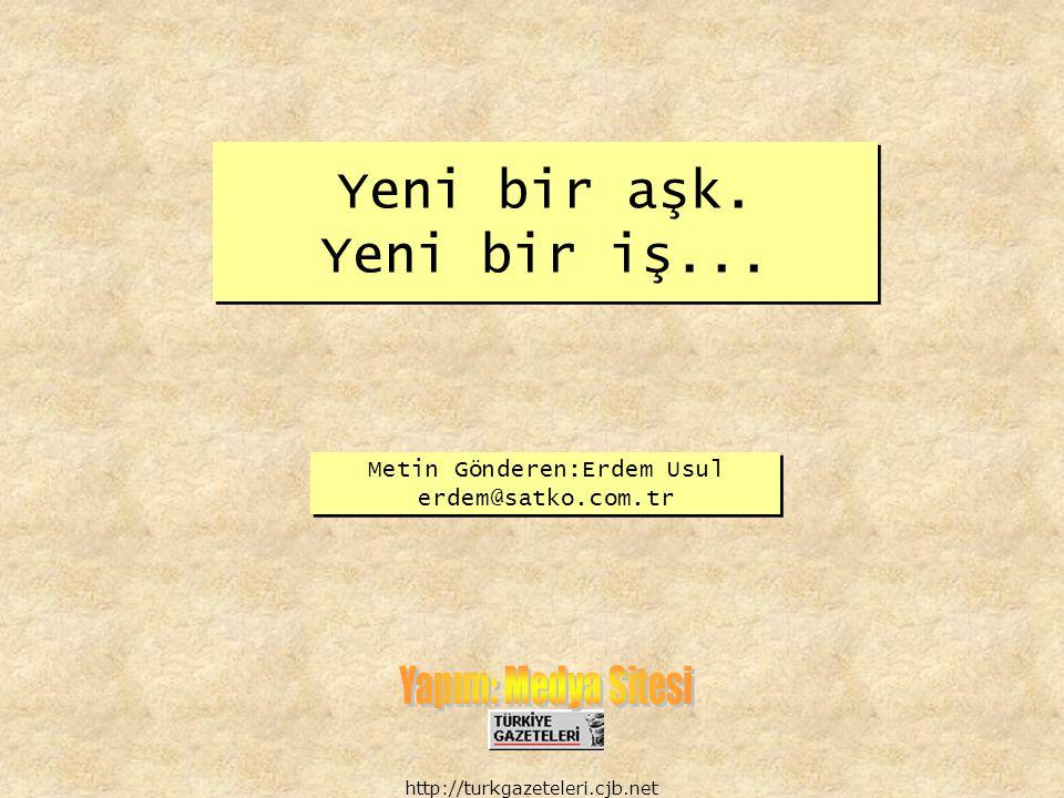 http://turkgazeteleri.cjb.net Bu sene iyi geçmedi, söylemem lazım Kader beni seçmedi, görmemem lazım
