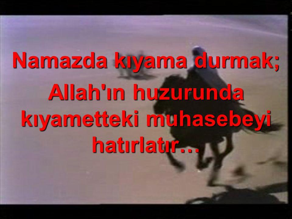Tekbir getirerek kurban kesildiği gibi, Allah ım canımız Sana feda olsun! anlamındadır…
