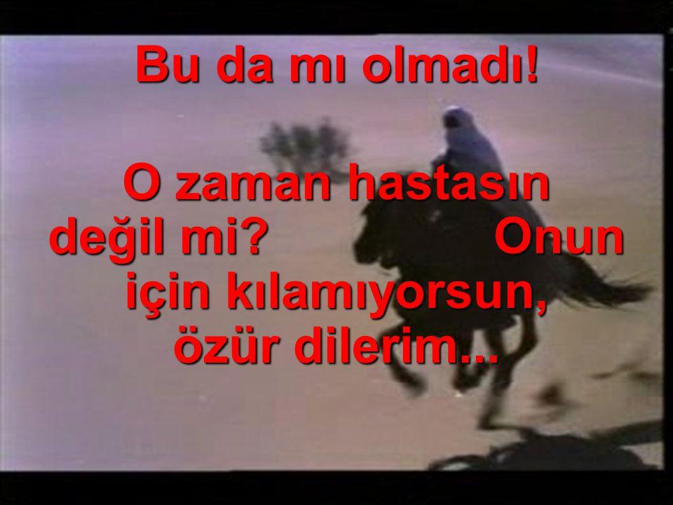 SEN HALA GENCİM DE...