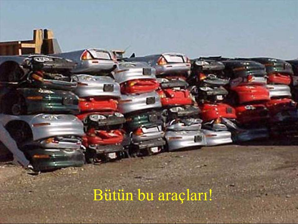 ... YOK ETTİLER! •General Motors bütün EV1'leri kullanıcıları olmasına rağmen geri çağırdı. Ve sonra onlar...