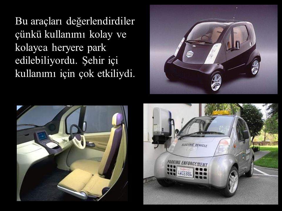 •1997, Nissan Tokyo'da ''Hyper Mini'' adlı elektirikli araçları üretti. •Pasadena şehri halkı, California (USA) bu aracı profesyonel çalışanları için