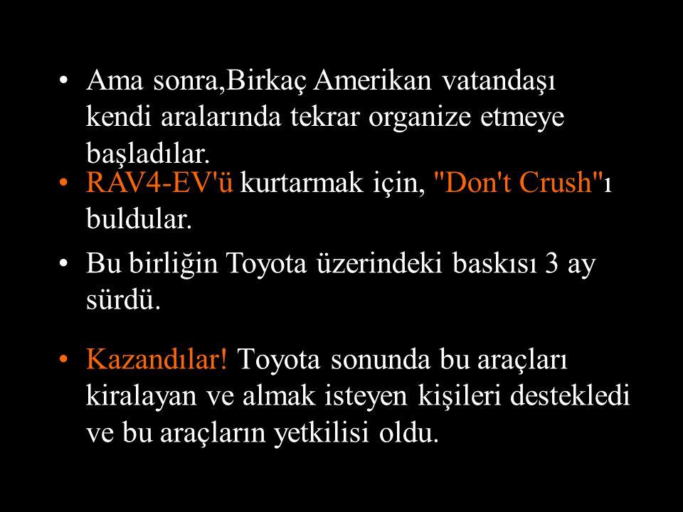 •Toyota aceleyle bütün bu araçları tekrar ele geçirdi...... Onları YOK ETTİLER!