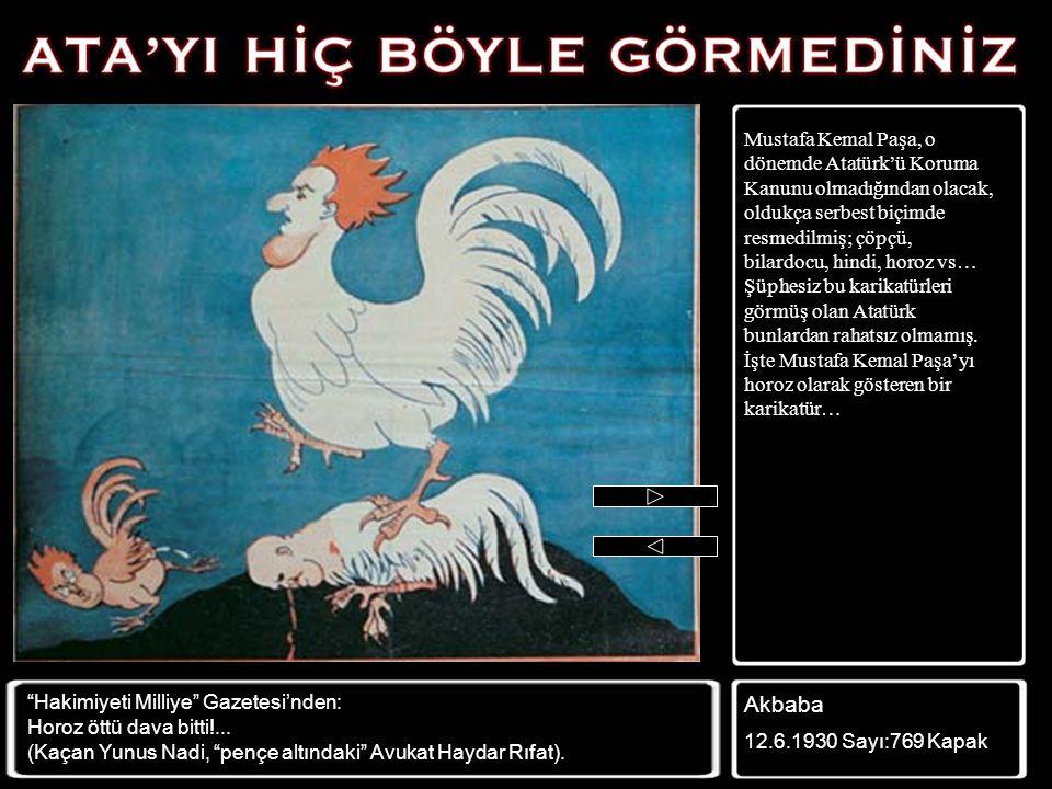 Mustafa Kemal Paşa Devrimleri gerçekleştiriyor; engelli koşan bir atlet gibi, tüm engelleri aşıyor… Zümrüdüanka 6.3.1924 Sayı: 121 Sh:1 Necat Safhalar