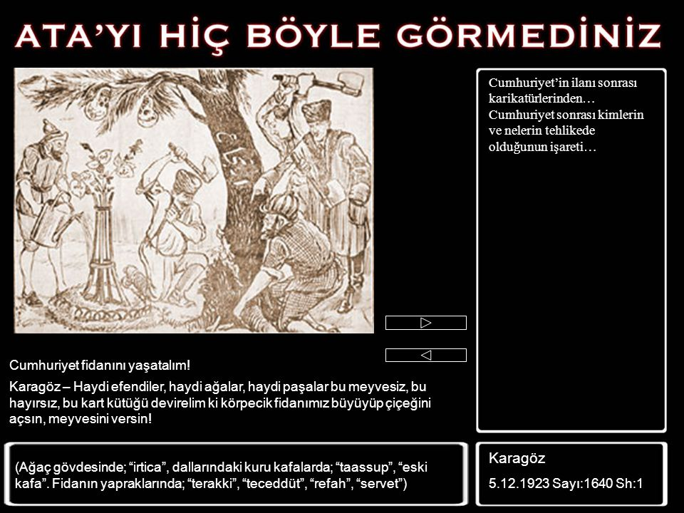 Meşhur Damat Ferit de karikatürcülerin Mustafa Kemal Paşa ile birlikte çizdiği simalardan… Güleryüz 16.11.1922 Sayı:82 Kapak Kabus (Damat Ferit'in kab
