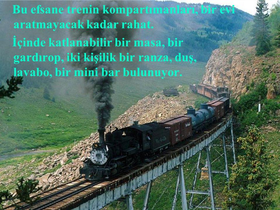 İskoçya'nın eşsiz manzaraları arasında giden 'The Royal Scotsman' ise trenler arasında en pahalısı.