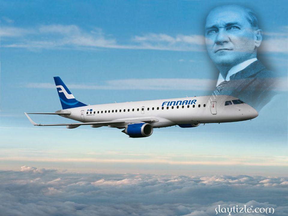 Bugün Brezilya'nın ürettiği binlerce uçak gökyüzünde süzülüyor. Eğer Atatürk'ün vizyonuna sahip olmayan yöneticiler, çalışan fabrikalara kilit vurmamı