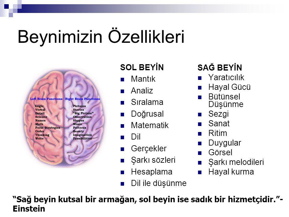Beynimizin ne kadarını kullanıyoruz.
