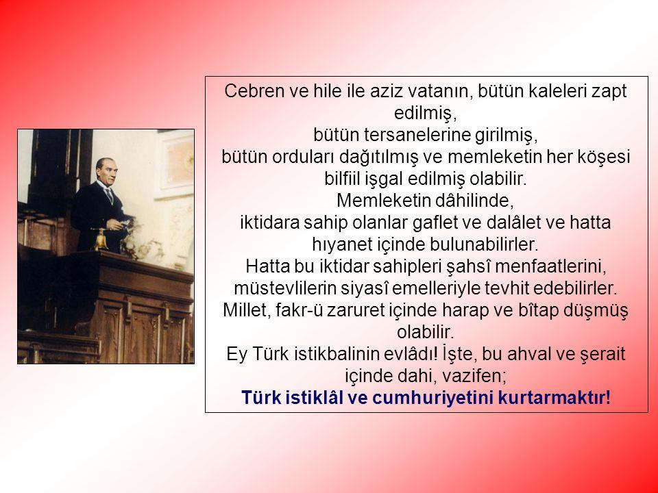 Cumhuriyetçi – Demokrat – Laik – Aydın arkadaş ve Necip Türk vatandaşı!