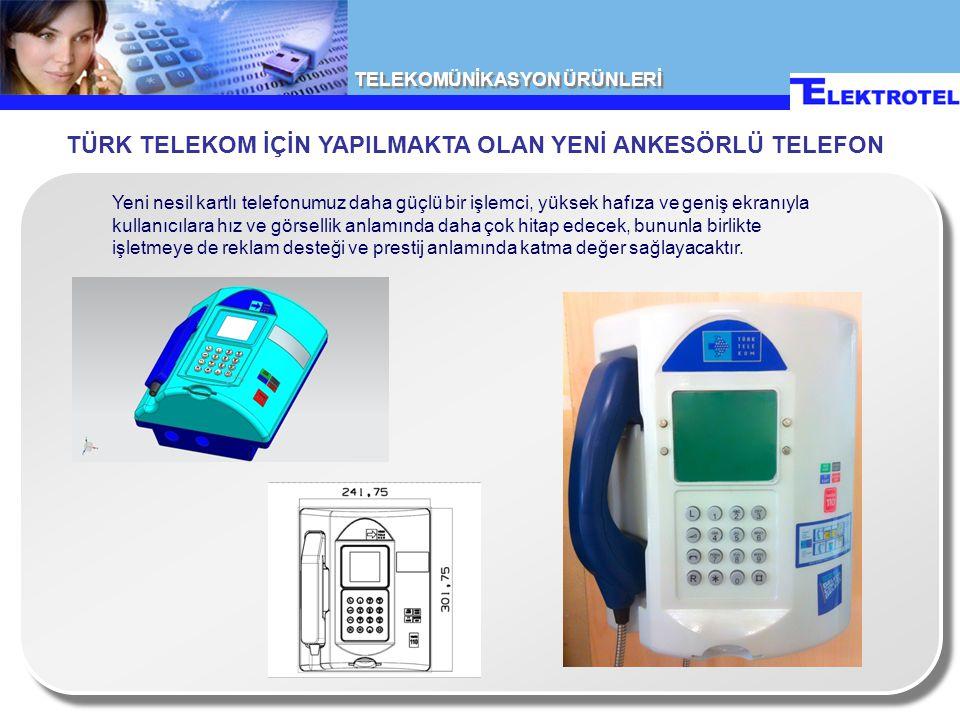 TELEKOMÜNİKASYON ÜRÜNLERİ Bozuk para ile çalışan ankesörlü telefon sistemimiz detaylı bir yönetim sistemi yazılımı ve çoklu modem desteği ile bir bütündür.