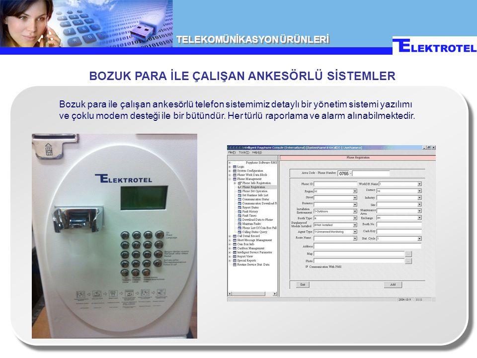 TELEKOMÜNİKASYON ÜRÜNLERİ Data bağlantılarında kullanılan DDF kutusu DDF MODÜLÜ