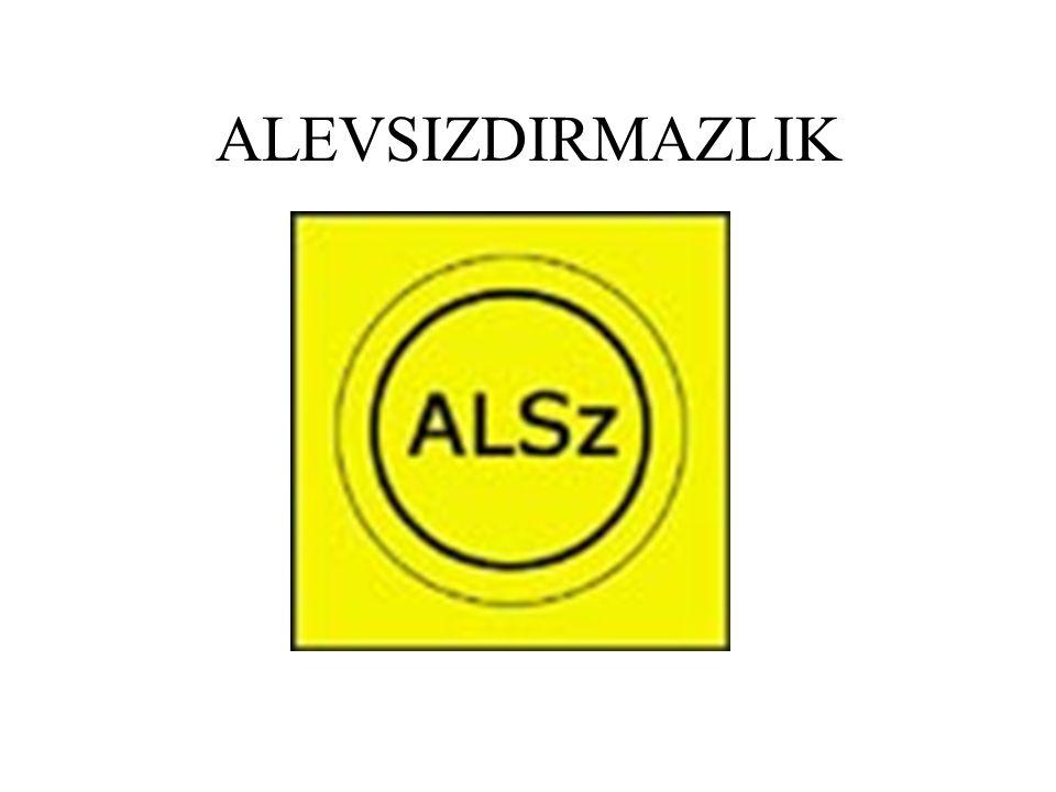 ALEVSIZDIRMAZLIK