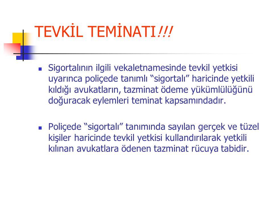 TEVKİL TEMİNATI!!.