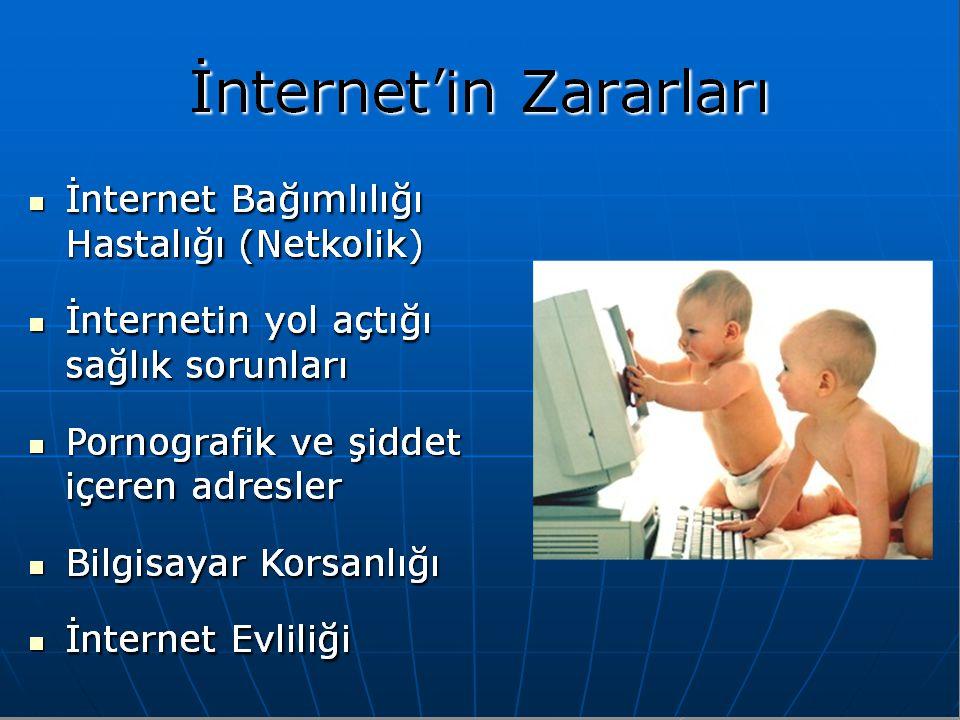 İnternet Bağımlılığı Hastalığı (Netkolik)