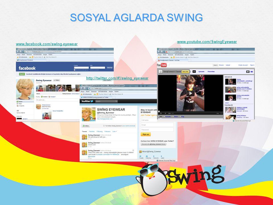 SOSYAL AGLARDA SWING www.facebook.com/swing-eyewear http://twitter.com/#!/swing_eyewear www.youtube.com/SwingEyewear