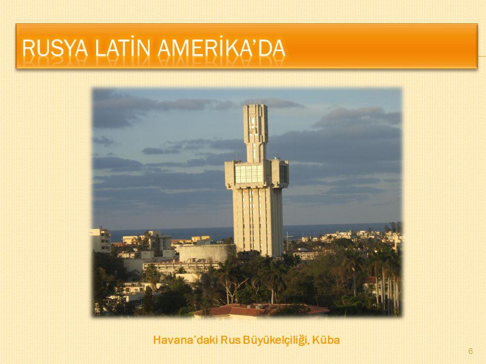 6 Havana'daki Rus Büyükelçiliği, Küba