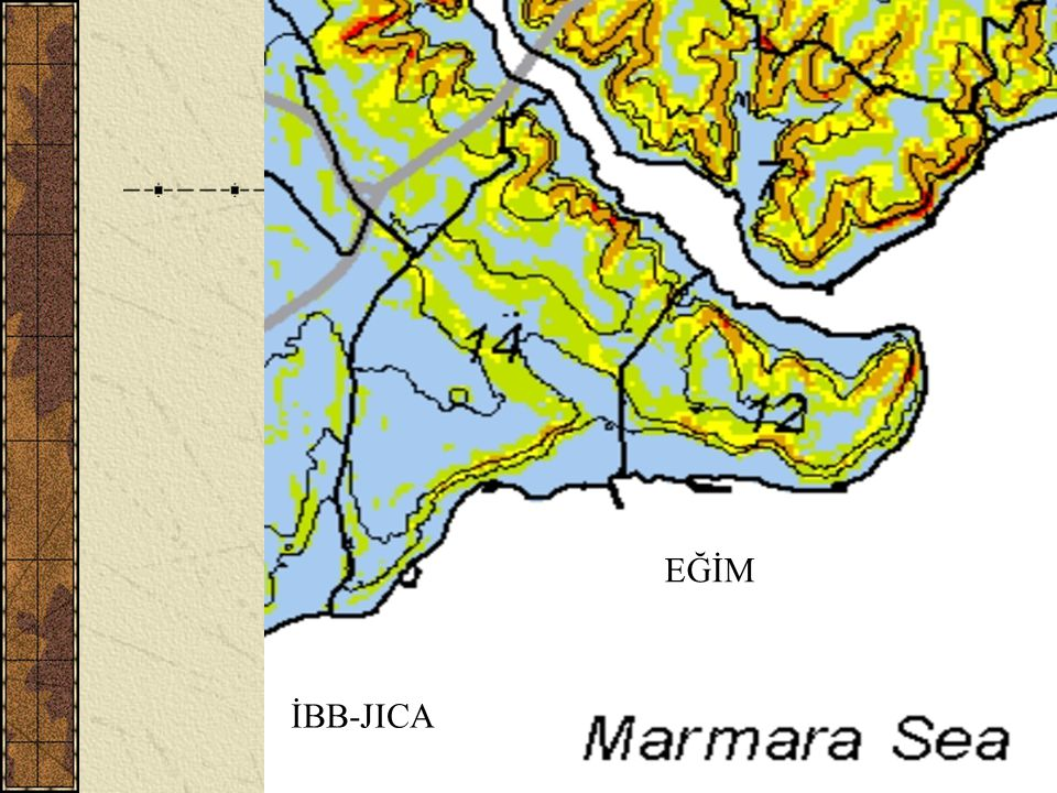 H. Eyidoğan, Tarihi Yarımada ve Deprem (İTÜ)10 EĞİM İBB-JICA