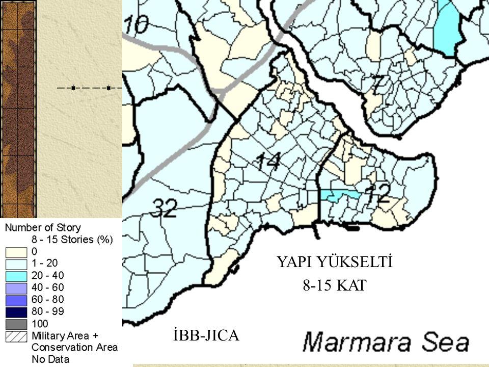H. Eyidoğan, Tarihi Yarımada ve Deprem (İTÜ)17 YAPI YÜKSELTİ 8-15 KAT İBB-JICA