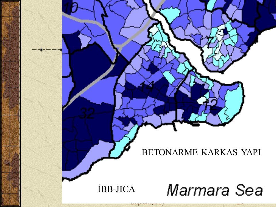 H. Eyidoğan, Tarihi Yarımada ve Deprem (İTÜ)20 BETONARME KARKAS YAPI İBB-JICA