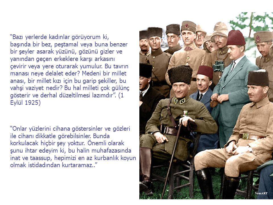 """""""Bu millet esas terbiyesini aileden almaktadır. Türk milleti öyle analara sahiptir ki her bir devrin büyük adamlarını bu analar yetiştirmiştir. Türk k"""