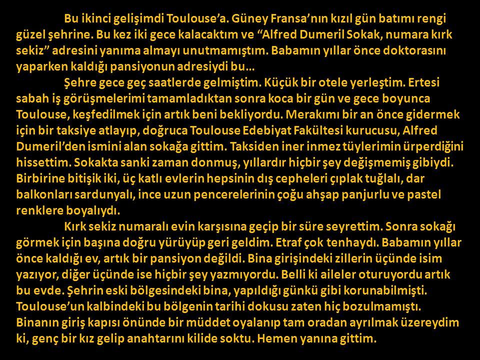 "MADAM CONCHE'N İ N PANS İ YONU Ö y k ü c ü C a n Ö z o ğ u z fon müziği: Charles Aznavour, ""La Boheme"""