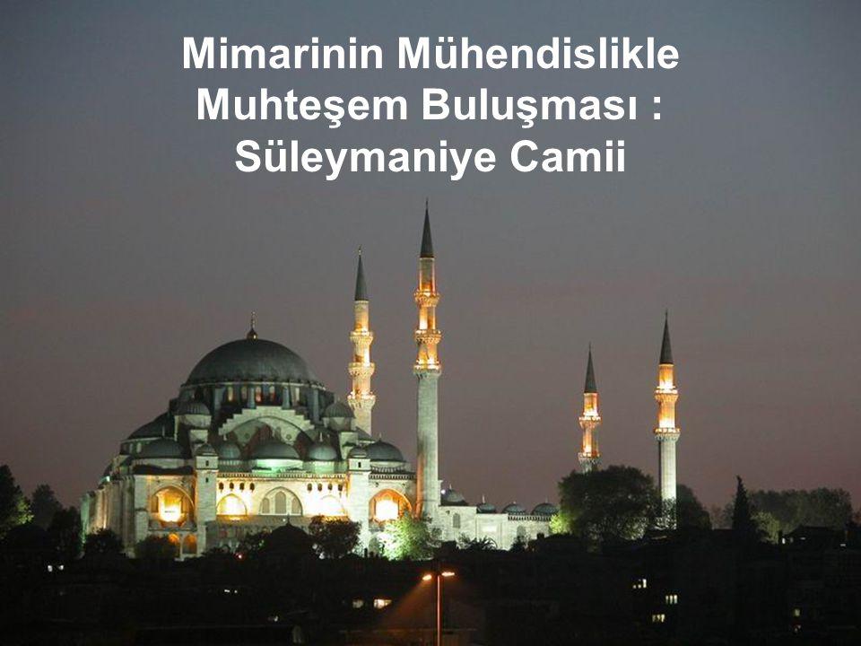 İnşaatla ilgili bilgiler Süleymaniye'nin inşasına ait teknik bilgilerin yer aldığı herhangi bir evrak bulunamamıştır.
