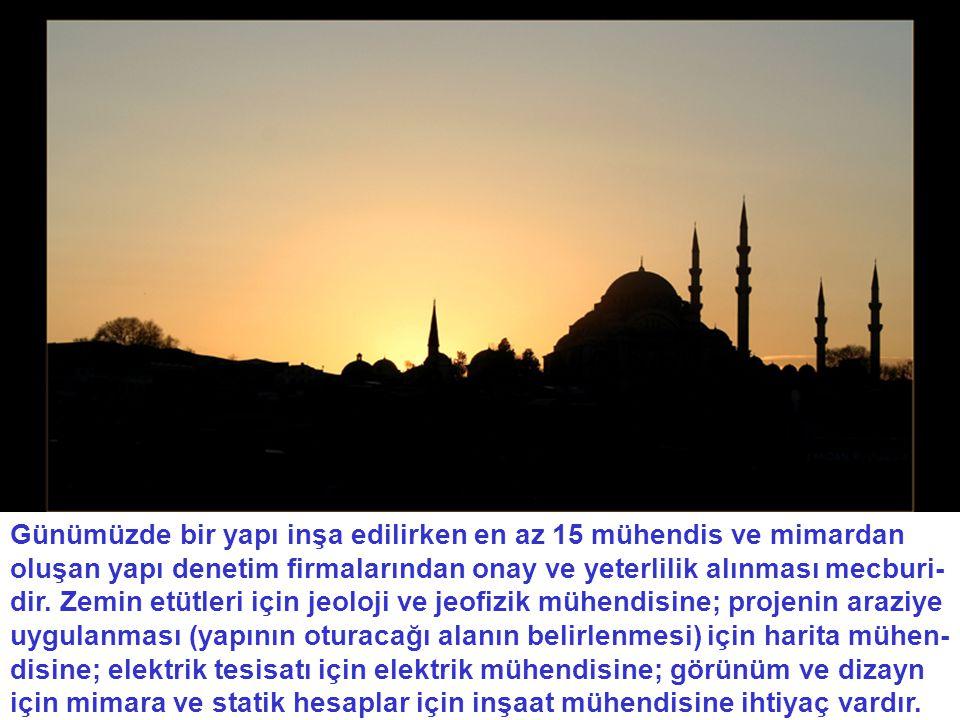 Mükemmel netice Süleymaniye Camii'nde gördüğümüz bu mükemmellikler bize Her şeyi maddede arayanların akılları gözlerine inmiştir.