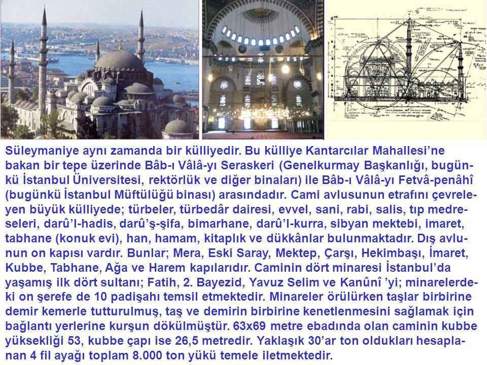 Camideki geometrik merkezler Birçok sırrı barındıran taç kapı, önemli bir geometrik merkezdir.
