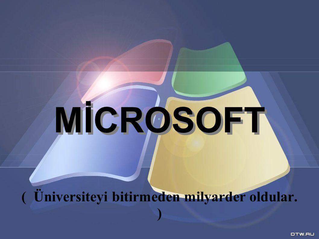 Microsoft un Logo Geçmisi ;