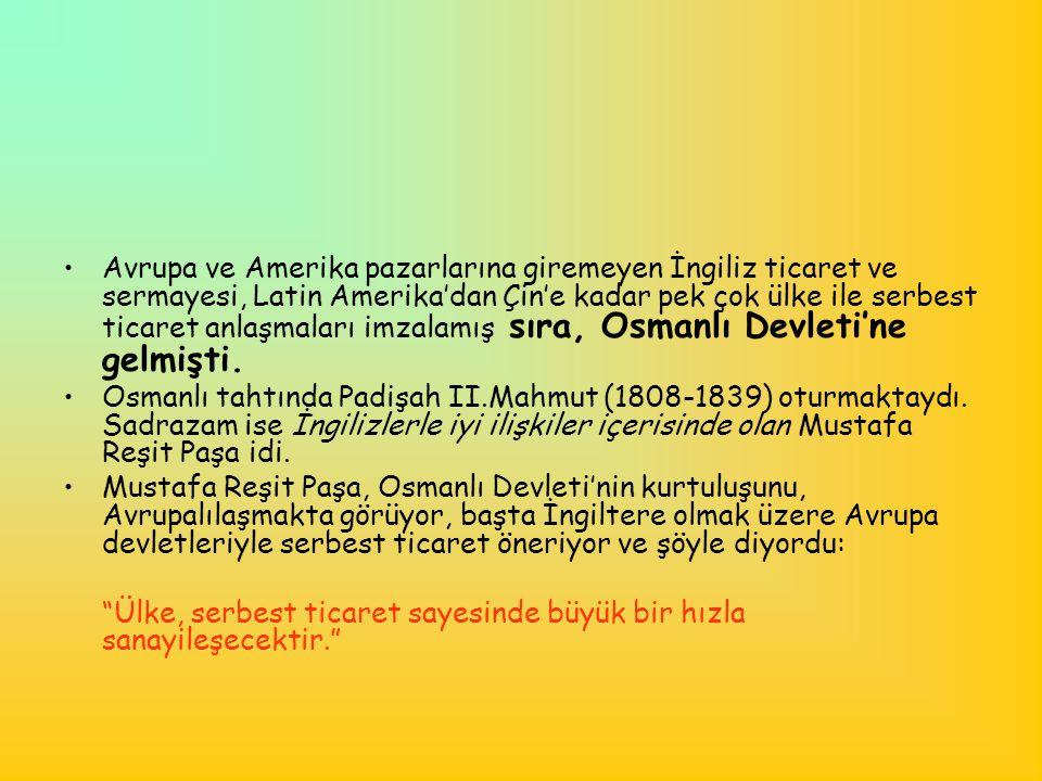 •O dönemde Batıda sıkı bir gümrük politikası uygulanmaktayken, Osmanlı Devleti'nde gümrük vergisi %3 civarındaydı.
