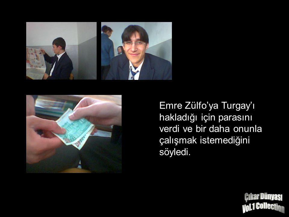 Zülfo'nun yakalanması uzun sürmedi. Zülfo gereken cezayı aldı.