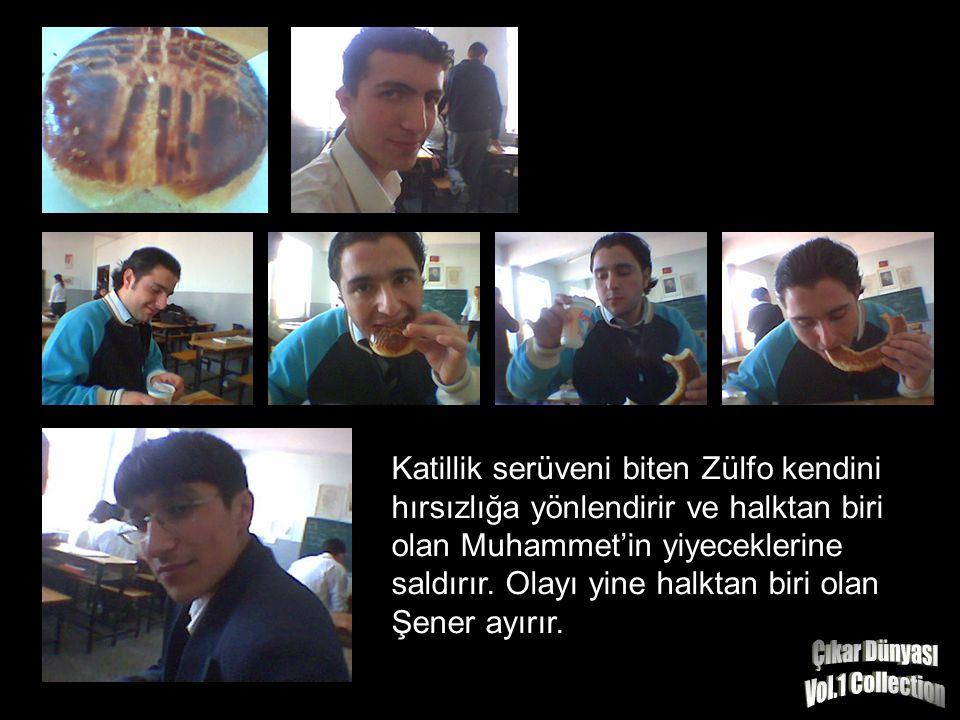 Katillik serüveni biten Zülfo kendini hırsızlığa yönlendirir ve halktan biri olan Muhammet'in yiyeceklerine saldırır.