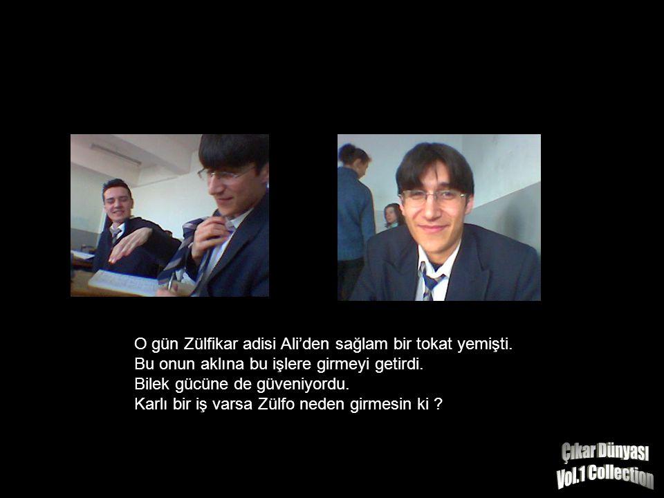 O gün Zülfikar adisi Ali'den sağlam bir tokat yemişti.