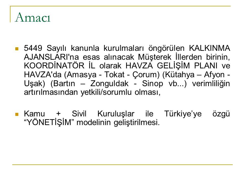 Yapılacak Çalışmalar  Koordinatör il valiliğine (Ankara-İstanbul-İzmir dışında 23 il) Kamu Yönetiminde liyakat sahibi, ileri yönetim bilgi ve becerilerine vakıf vali atanması ve kadrolarının yüksek vasıflı yöneticiler ve yetkilerle desteklenmesi,  Kalkınma Ajanslarının Danışma Kurullarına son 20 yılda ilgili illerden üniversite sınavında ilk %5 e giren meslek sahiplerinin gönüllülük esasıyla davet edilmesi,  Mevcut ve kurulacak Kent Konseylerinin, Kalkınma Ajansları Danışma Kurullarıyla müşterek çalışması için düzenleme yapılması,