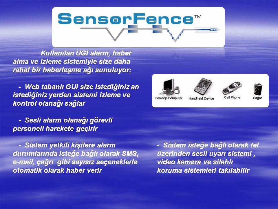 SİSTEM ELEMANLARI: - Dalga sürücü; alışıla geldik çelik teldir; dalga titreşimlerini, algılama sistemine iletilmesini sağlar.