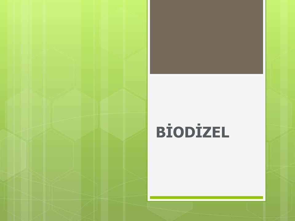 BİYODİZELİN TARİHÇESİ  Biyolojik yakıtların gelişim tarihi teknolojik açıdan çok politik ve ekonomik değişimlere dayanır.