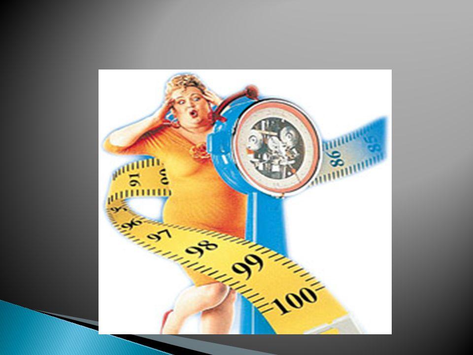  Obezite, vücuda besinler ile alınan enerjinin, harcanan enerjiden fazla olmasından kaynaklanan ve vücut yağ kitlesinin, yağsız vücut kitlesine oranla artması ile karakterize olan kronik bir hastalıktır.