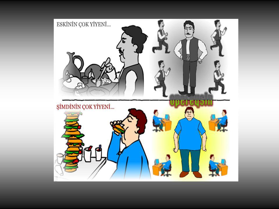 Obezite ile doğrudan ilişkili hastalıklardan birkaçı: •kalp hastalıkları, •yüksek tansiyon, •şeker hastalığı, •yüksek kolesterol, •solunum rahatsızlıkları, •eklem hastalıkları, •adet düzensizlikleri, •kısırlık, •iktidarsızlık, •safra kesesi hastalıkları, •taş oluşumu, •bazı kanser türleri…..