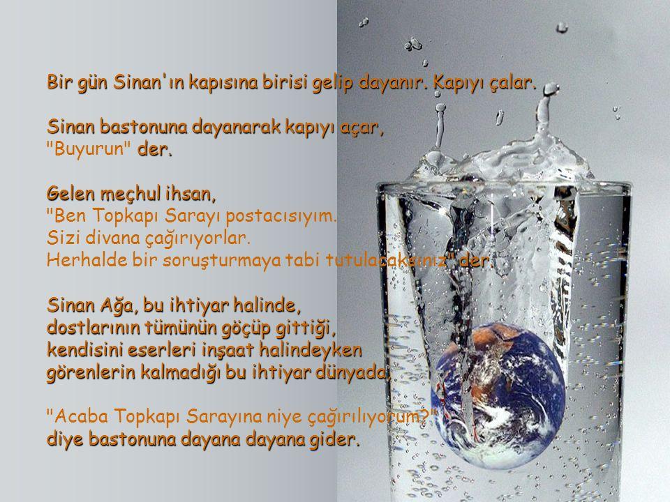 Mimar Sinan Şehzadebaşı Camiini, Süleymaniye Camiini ve Edirne'deki Selimiye Camiini yaptıktan sonra yaşlanır. Mimar Sinan Şehzadebaşı Camiini, Süleym