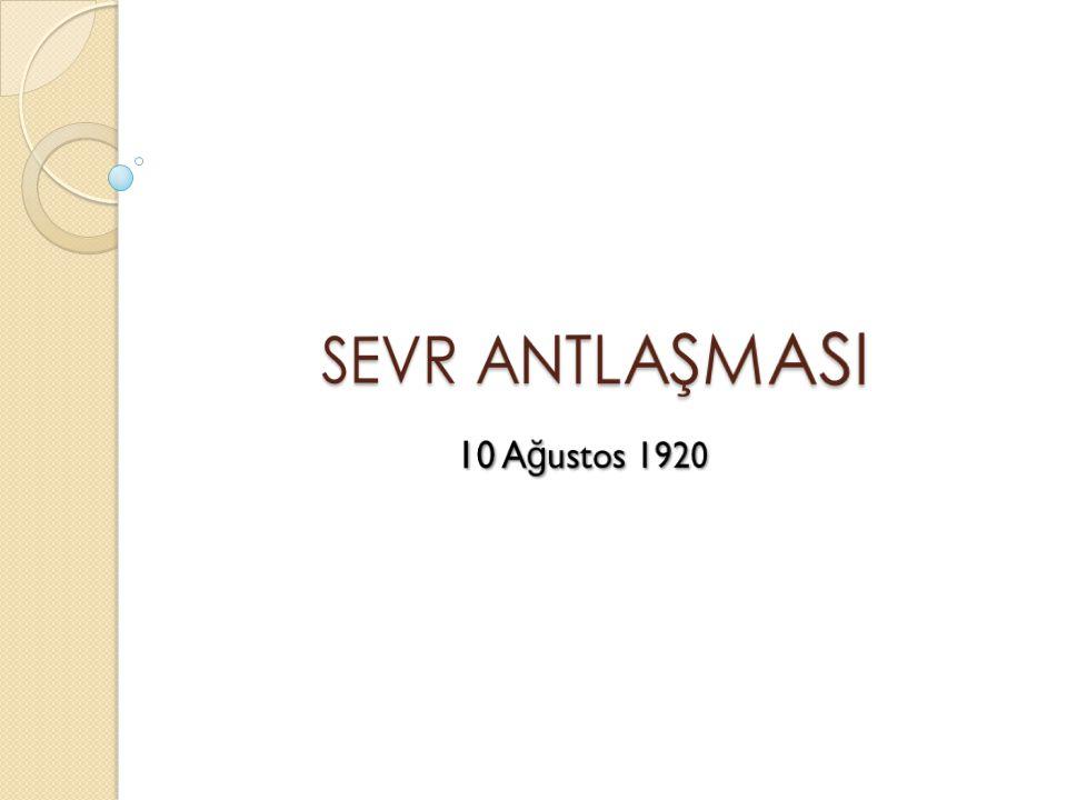  Kapitülasyonlar (madde 260-268): Osmanlı nın 1914 te tek taraflı olarak fesh etti ğ i kapitülasyonlar müttefik devletler vatandaşları lehine yeniden kurulacak; Ali Alkan | www.alikopter.org