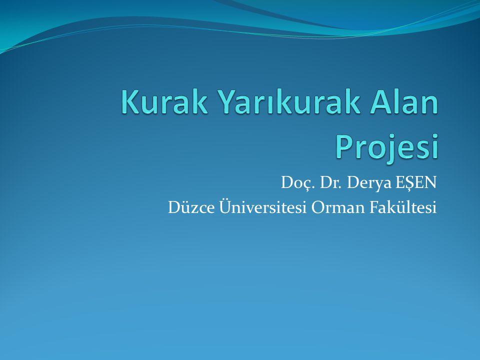 """Gereksinim  Türkiye'nin % 65'i kurak ve yarıkurak alan (KYK) (ÇEM 2011)  05–08 Aralık 2011 Ürgüp/Nevşehir """" de KYK Alan Yönetimi Çalıştayı  Bu alanların iyileştirilmesi ve sürdürülebilir yöntemi ile ilgili öncelikli çalışma konuları belirlenmiş"""