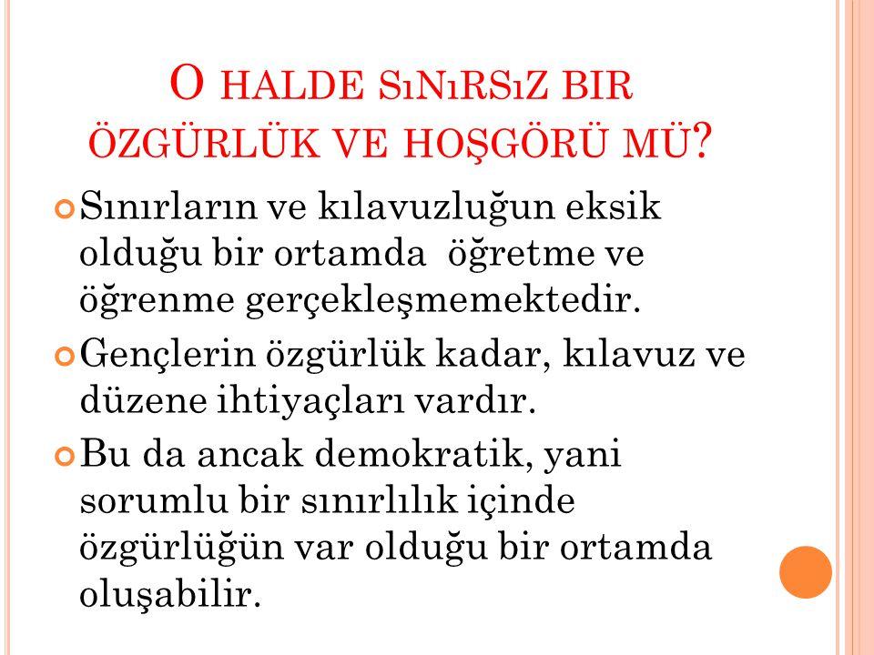 DEMOKRATİK BİR ORTAM NASIL YARATILIR.1.