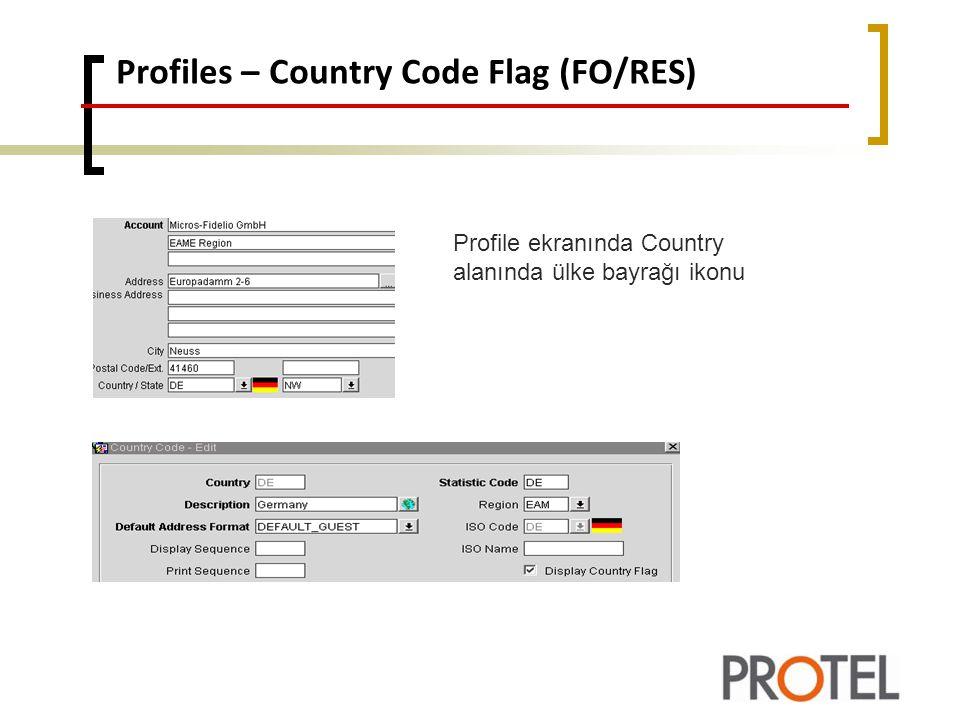 Reports – profileproductivitystat.rep(RES) Profile Production Statistic raporundaki Profile seçim paremetresinde SELECT PROFILES seçeneği ile istenilen bazı profiller raporlanabilir.