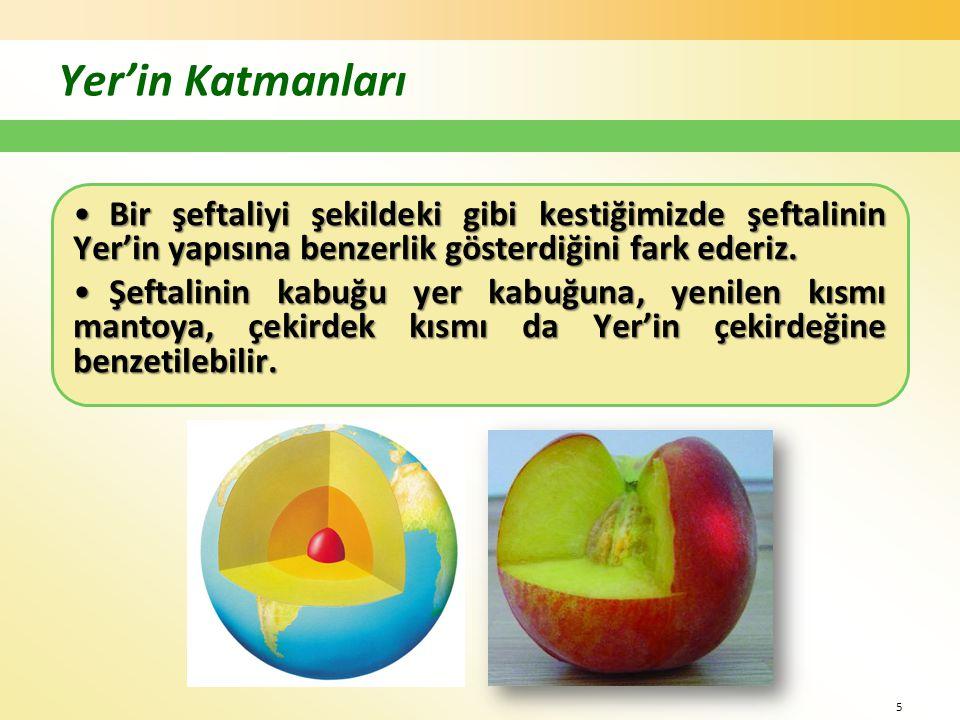 a) Yer kabuğu •Litosfer ya da taşküre olarak da adlandırılır.